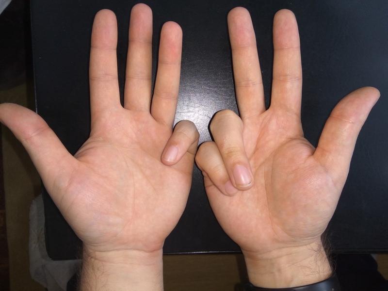 Как умножать на пальцах 6 на 7