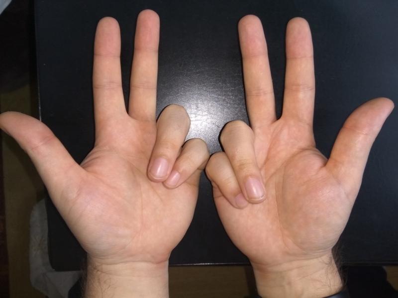 Как умножать на пальцах 7 на 7