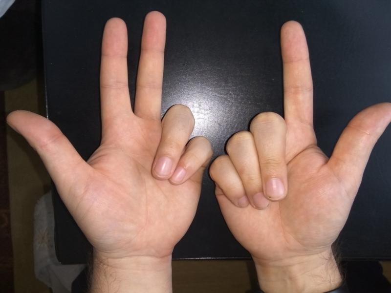 Как умножать на пальцах 7 на 8