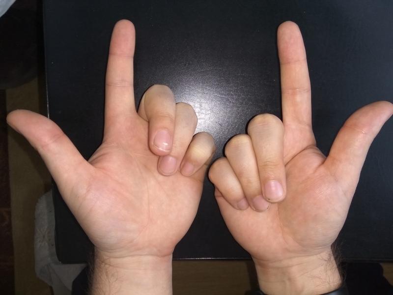 Как умножать на пальцах 8 на 8