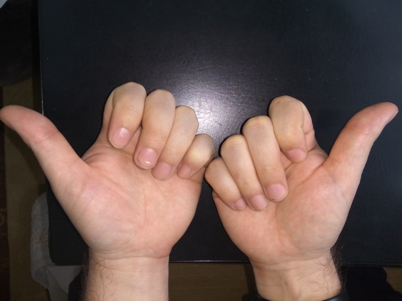 Как умножать на пальцах 9 на 9
