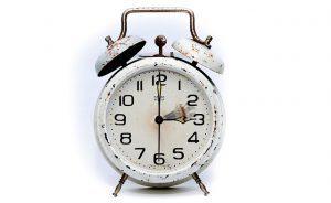 Перевод будильника