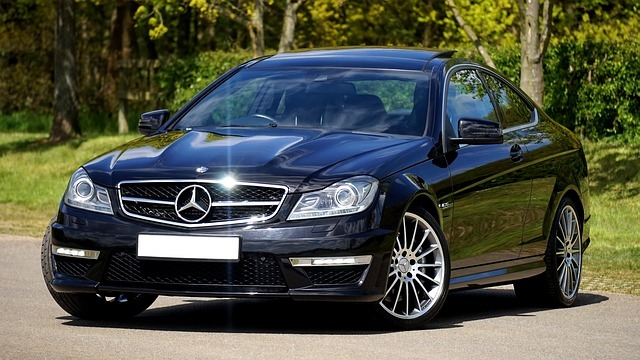 Красивая машина